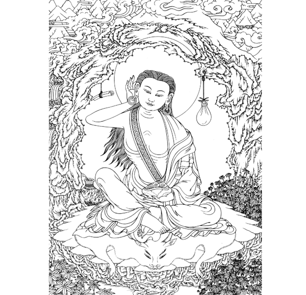 Guru Yoga De Milarepa - Um ensinamento de S.S. o XVII Karmapa